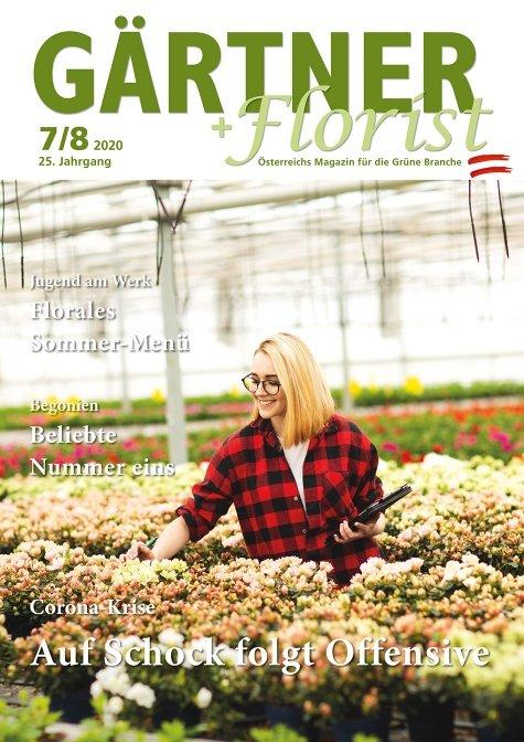 GÄRTNER+FLORIST Ausgabe 7-8/2020