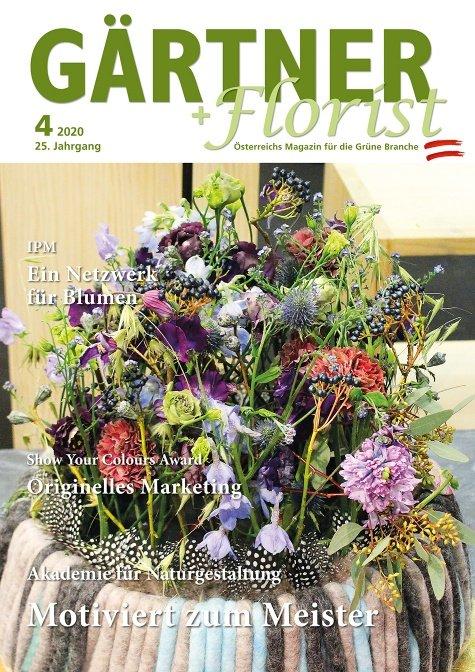 GÄRTNER+FLORIST Ausgabe 4/2020