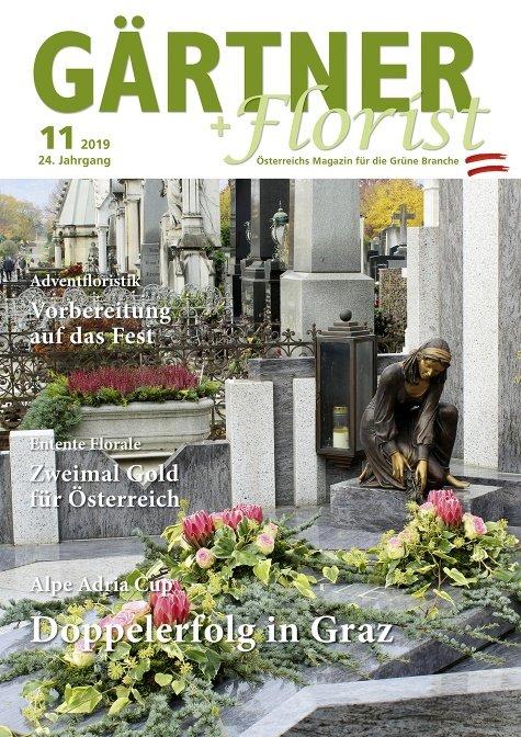 GÄRTNER+FLORIST Ausgabe 11/2019