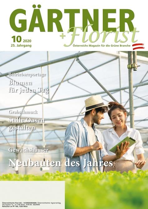 GÄRTNER+FLORIST Ausgabe 10/2020
