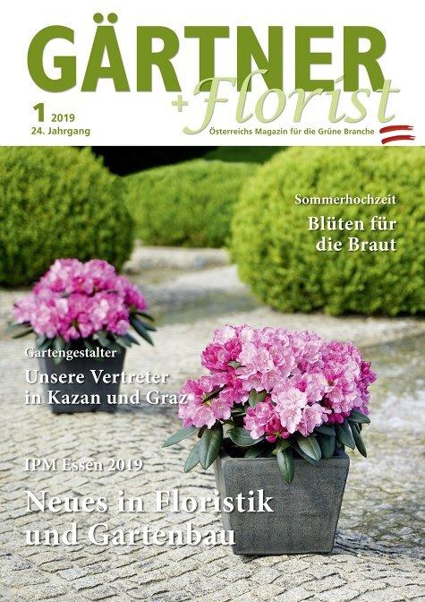 GÄRTNER+FLORIST Ausgabe 1/2019
