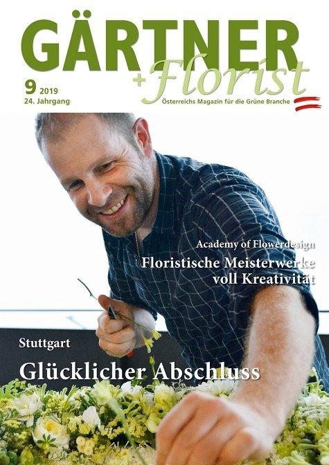 GÄRTNER+FLORIST Ausgabe 9/2019