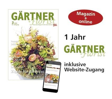 1 Jahr Abo Gärtner+Florist