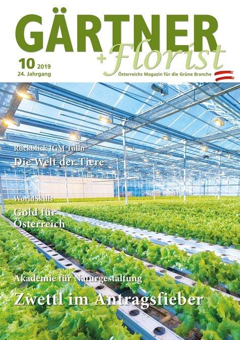 GÄRTNER+FLORIST Ausgabe 10/2019
