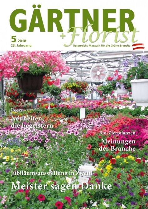 GÄRTNER+FLORIST Ausgabe 5/2018