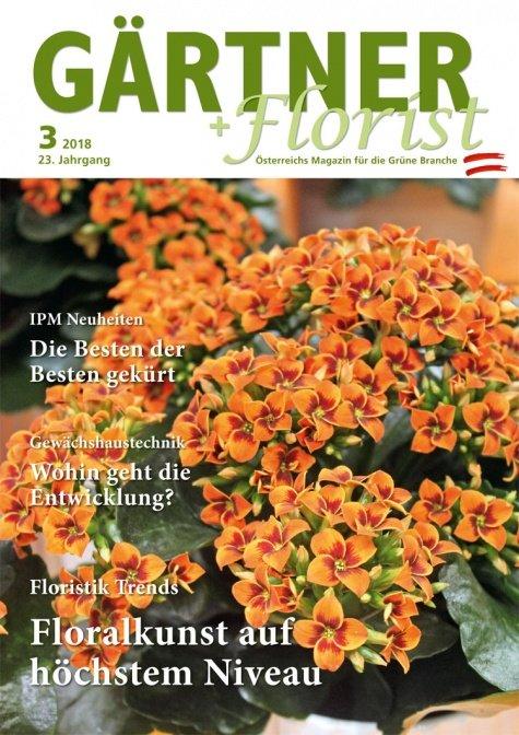 GÄRTNER+FLORIST Ausgabe 3/2018
