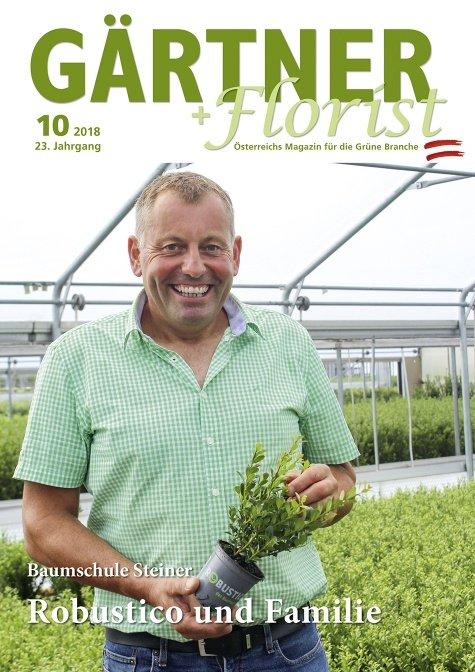 GÄRTNER+FLORIST Ausgabe 10/2018
