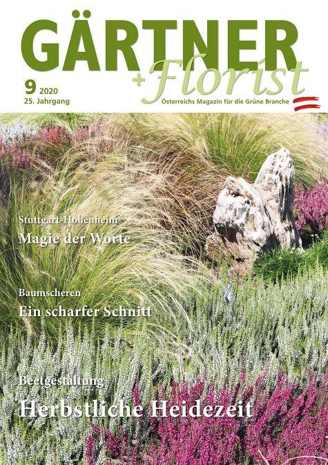 GÄRTNER+FLORIST Ausgabe 9/2020