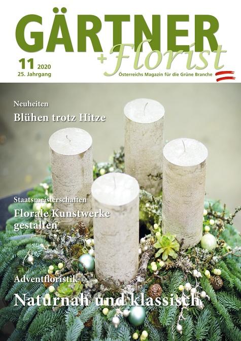 GÄRTNER+FLORIST Ausgabe 11/2020