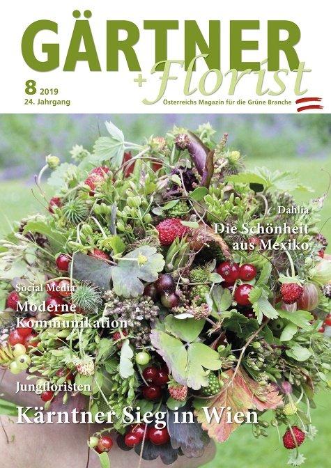 GÄRTNER+FLORIST Ausgabe 8/2019