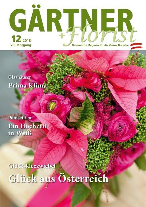 GÄRTNER+FLORIST Ausgabe 12/2018